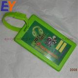 De Markering van de Bagage van het Beeldverhaal van pvc met het Pakket van de Douane in Uitstekende kwaliteit