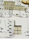 Imán magnético del neodimio del cubo del níquel del cubo 5mm*5mm*5m m