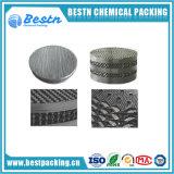 embalaje de la gasa del alambre de metal 304 316 para el sistema de la separación