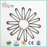 ハングの札のための卸売22mm Uの形のCoillessの金属安全ピン