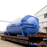 2800x4500mm d'automatisation complète de chauffage à vapeur Vulcanizating Autoclave en caoutchouc