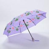 جديدة تصميم زهرة يطبع [سون]/مطر مظلّة