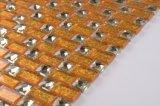 Foshan-Goldfarbe bedeckt Spiegel-Mosaik-Fliese