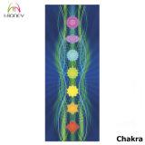 El ante de encargo de Microfiber de la impresión de 7 Chakra reblandeció la estera absorbente de la yoga