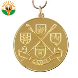 2018リボンが付いている新しいデザイン工場価格の金属メダル