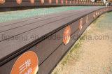 Milieuvriendelijke Stevige Houten Plastic Samengestelde Vloer WPC OpenluchtDecking