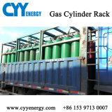 Cremagliera in mare aperto del cilindro dell'anidride carbonica dell'argon dell'azoto dell'ossigeno