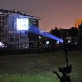 Le plus puissant zoom crie rechargeable Lampe torche à LED