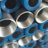 ASTM A53, API 5L, tubulação de aço de BS1387 En10219 ERW Weled com o revestimento galvanizado mergulhado quente