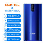 4G Oukitel K3 Telefonia Movil 6000mAh 4 Cámaras Smart Phone
