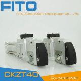 Cylindre pneumatique de bride de pouvoir de Vario totalement entouré, type auto-bloqueur (version F CKZT)