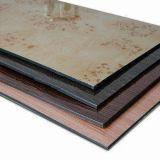 Zusammengesetztes Material-Aluminiumgebrauch für Wand-Umhüllung-Dekoration