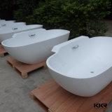 Bañera del masaje del Jacuzzi del torbellino de la piedra de China para el hotel (BT170919)