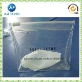 Bolso claro del PVC para la ropa. Bolso del gancho de leva del PVC (jp-plastic070)