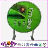 二重側面アルミニウムLEDライトボックスのアクリルのライトボックスのロゴLEDの印