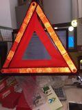 Triangolo d'avvertimento della strada riflettente per sicurezza stradale