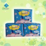 Almofadas sanitárias do aníon médico descartável do produto para a noite