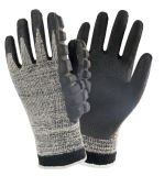 Нитриловые ближний свет Impact-Resistant механические работы перчатки для работы с молотком с помощью
