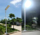 30W 사진기를 가진 통합 태양 가로등 LED 옥외 빛