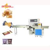 Automatische Fluss-Schokoladen-Verpackungsmaschine für Popsicle, Eis-Lutschbonbon, Handschuhe, Seife, Brot