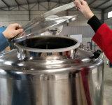 Depósito de fermentación vertical del refrigerador de la leche del tanque del enfriamiento de la leche del depósito de leche