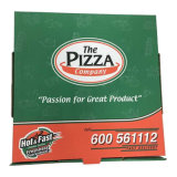 خداع حارّ يغضّن بيتزا صندوق مع عالة حجم