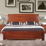 固体木のベッドの現代ベッド(M-X2835)