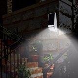 La lumière solaire de lampe de 15 DEL avec le mur extérieur de l'éclairage DEL de panneau solaire allume le réverbère imperméable à l'eau lumineux de jardin