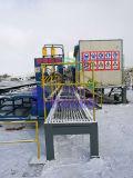 Resíduos Automática pesados os tubos de aço de corte de tubos de máquina de Cisalhamento
