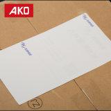 Escrituras de la etiqueta de envío blancas impermeables del trazador de líneas del papel cristal para empaquetar