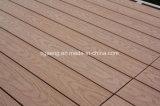 Tipo de madeira interno revestimento projetado WPC impermeável da boa qualidade