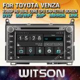 DVD van de Auto van de Vensters van Witson de Speler Van verschillende media voor Toyota Venza