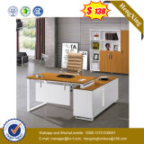 백색 분말 코팅 강철 다리 멜라민 책상 사무실 테이블 (UL-MFC474)