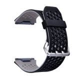 Correa de reloj del silicón de la alta calidad para Fitbit, venda de reloj suave para Fitbit iónico