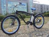 Cheap mâle verte Beach Cruiser vélo électrique avec la CE, EN15194