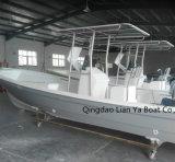 Шлюпка Panga рыбацкой лодки малой стеклоткани Liya 7.6m портативная