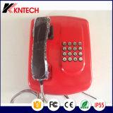 金属のキーパッドバンクの電話