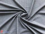 Tessuto cationico dello Spandex del jacquard dell'assegno del poliestere per l'indumento