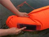 De nieuwe en Speciale Zwemmende Droge Zak van de Boei van de Veiligheid Drijvende met de Duidelijke Zak van de Telefoon