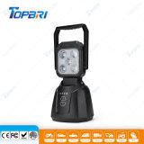 Resistente al agua 15W de iluminación portátil Encendido automático de luces LED de trabajo