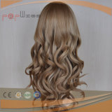 Parrucca bionda delle donne cascer ebree dei capelli umani (PPG-l-0136)