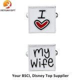 Custom дешевые латунные запонки с вашим логотипом