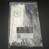 stokken van de Verspreider van de Polyester van de Vezel 50PCS/Bag van 3mmx25cm de Witte Synthetische