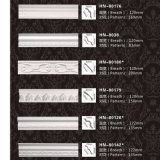 Cornicione del poliuretano del comitato di soffitto dell'unità di elaborazione che modella Hn-8038
