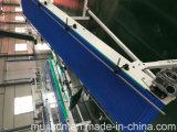 Verdeler die van Blauw de Modulaire Transportband van de Riem met Ss Frame draaien
