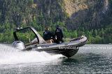 Barca gonfiabile della nervatura della barca di Liya 12people con il motore esterno