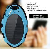 Chargeur portatif solaire de bloc d'alimentation de côté de pouvoir de la promotion 4000mAh avec le crochet pour extérieur