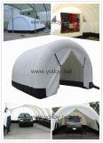 Garagem insuflável tenda carro móvel de pintura