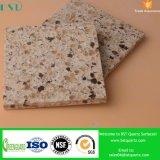 Камень слябов кварца песка бежевый проектированный