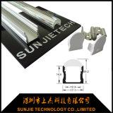 L'espulsione di alluminio di Sj-Alp1715b LED profila la profondità di 15mm